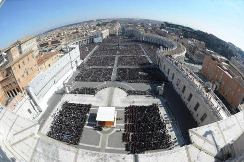 general audience, st. peter's square