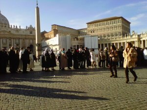 ash wednesday st. peter's square