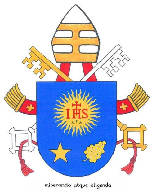 coat of arms pope francis