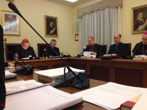 causes of saints meeting ad limina